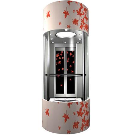 Thang máy quan sát - thang máy lồng kính ( giá 300.000.000 VNĐ)