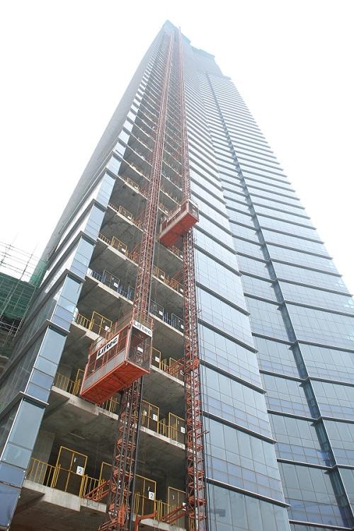 Bàn về thang máy sử dụng trong xây dựng