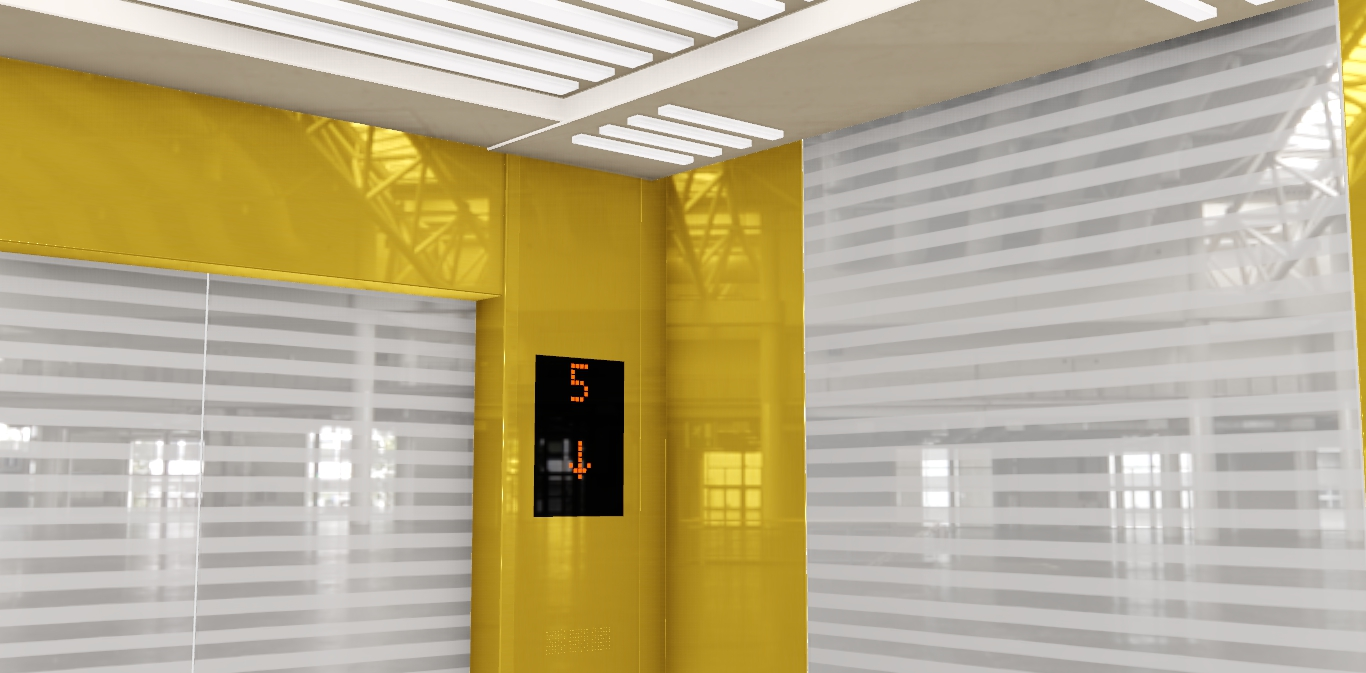 Những lựa chọn để trang trí cabin thang máy