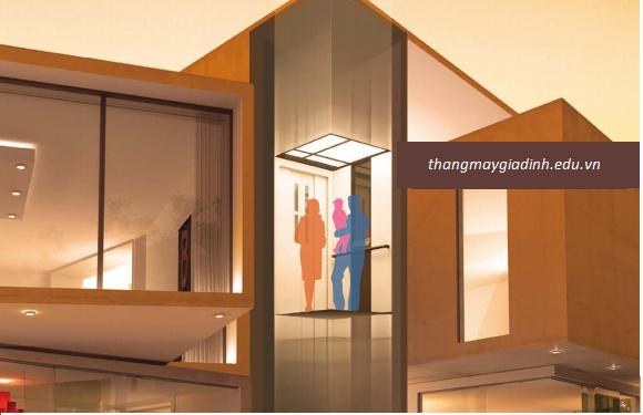 Điểm là khác biệt giữa thang máy gia đình và thang máy tải khách?