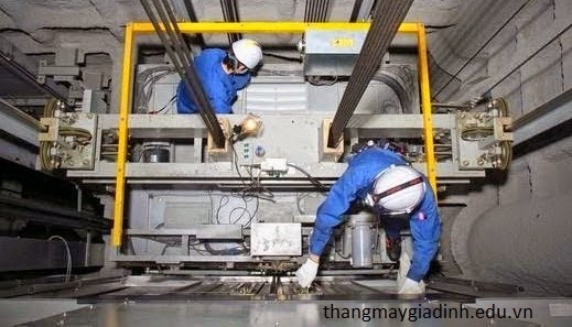 Các bước tiêu chuẩn trong lắp đặt thang máy