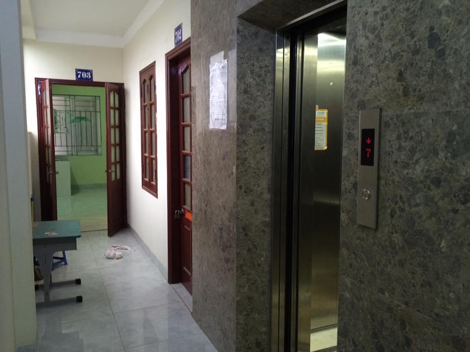 Lắp thang máy sử dụng cho nhà trọ sinh viên