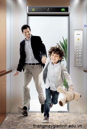 Ưu điểm của thang máy gia đình nhỏ